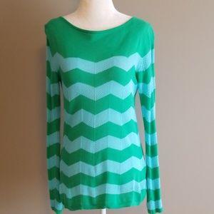 Lilly Pulitzer chevron sweater